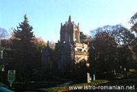 The chapel of the Green-Wood Cemetery
