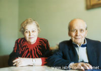 Domenico Cvecić and his wife Aristița Popescu