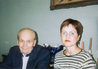 Domenico Cvecić and Adriana Dogaru